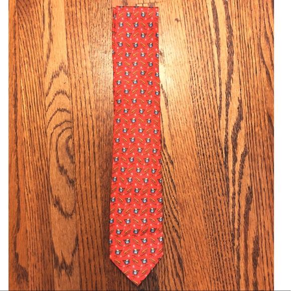 Bird Dog Bay silk tie